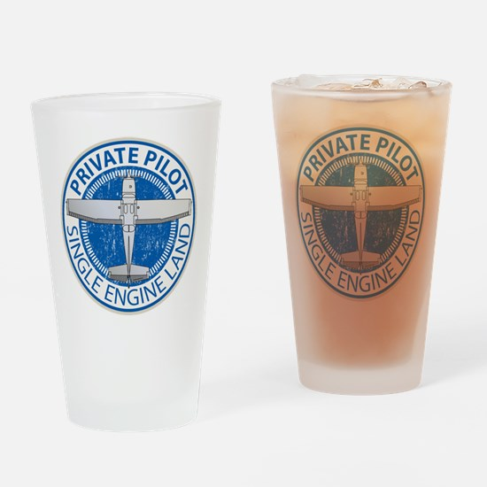 Aviation Private Pilot Drinking Glass