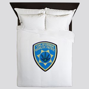 California Highlife Patrol Queen Duvet