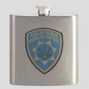 California Highlife Patrol Flask