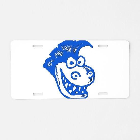 BIGHEADMONSTER Aluminum License Plate