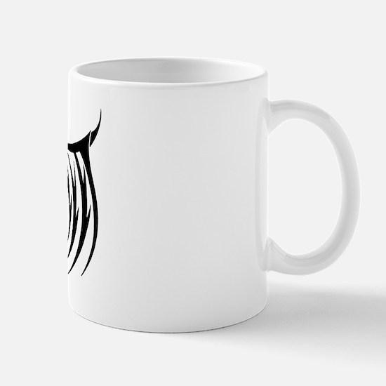 Tribal Gothic Wings Mug