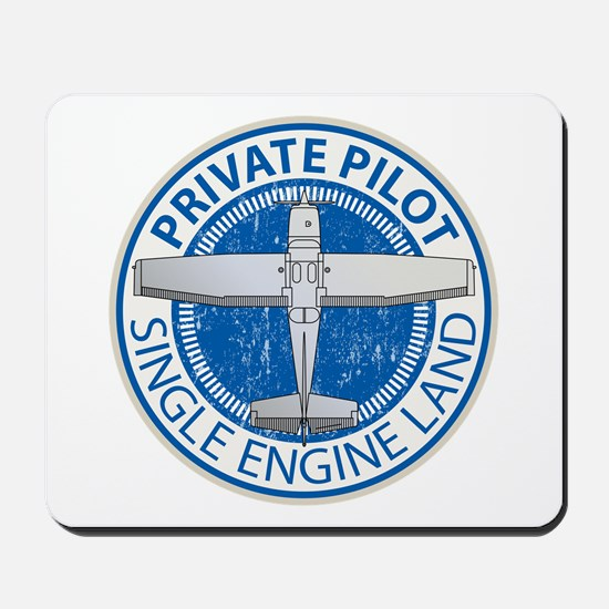 Aviation Private Pilot Mousepad