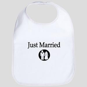 Just Married Bib
