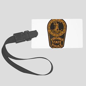 Virginia State Police Luggage Tag