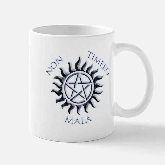 Supernatural Protective Black Pentagram Mug
