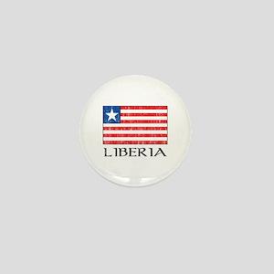 Liberia Flag Mini Button