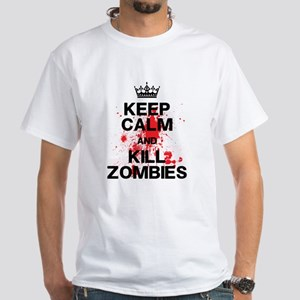 Keep Calm Kill Zombies T-Shirt