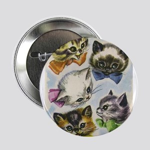 """Vintage Kittens in Bow Ties 2.25"""" Button"""
