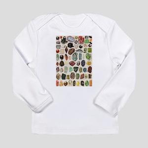 Vintage Geology Rocks Gemstones Long Sleeve T-Shir