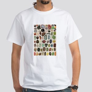 Vintage Geology Rocks Gemstones T-Shirt