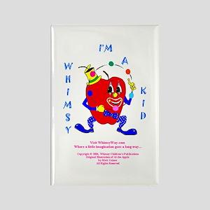 Al Whimsy Kid Rectangle Magnet