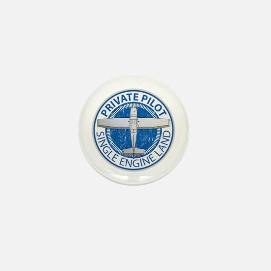 Aviation Private Pilot Mini Button