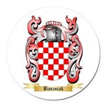 Baszniak Round Car Magnet