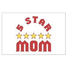 5 Star Mom Posters
