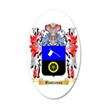 Bastianon 35x21 Oval Wall Decal