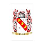 Bastard Sticker (Rectangle 50 pk)