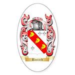 Bastard Sticker (Oval 10 pk)