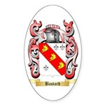 Bastard Sticker (Oval 50 pk)