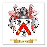 Bassone Square Car Magnet 3