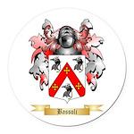 Bassoli Round Car Magnet