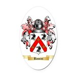 Bassini Oval Car Magnet