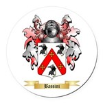 Bassini Round Car Magnet