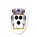 Bassill 35x21 Oval Wall Decal