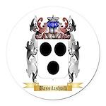Bassilashvili Round Car Magnet