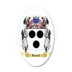 Bassil 35x21 Oval Wall Decal