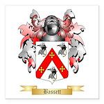Bassett Square Car Magnet 3