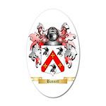 Bassett 35x21 Oval Wall Decal