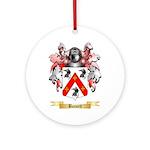 Bassett Ornament (Round)