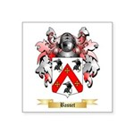 Basset Square Sticker 3