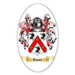 Basset Sticker (Oval)