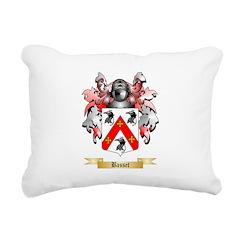 Basset Rectangular Canvas Pillow