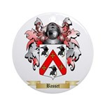 Basset Ornament (Round)