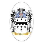 Bass (Germany) Sticker (Oval 10 pk)