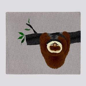 Sloth Throw Blanket