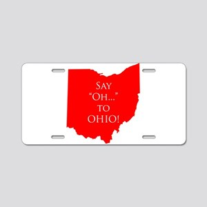 Say 'Oh...' To Ohio Aluminum License Plate