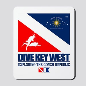 Dive Key West Mousepad