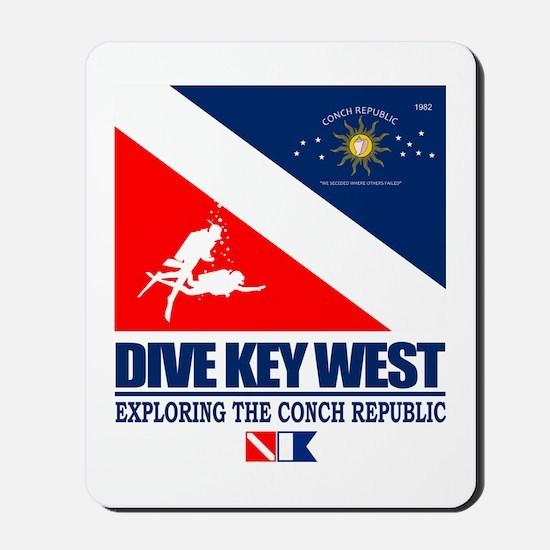 Dive Key West Mousepad