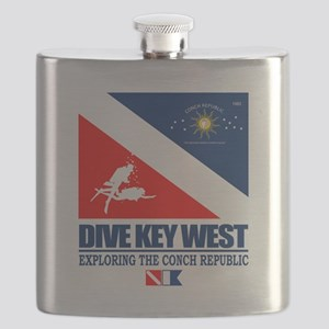 Dive Key West Flask