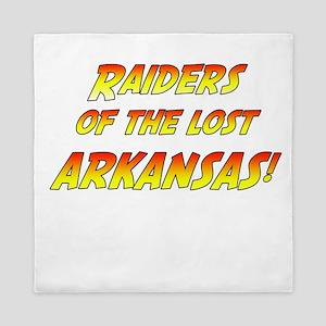 Raiders Of The Lost Arkansas! Queen Duvet