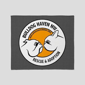 BHNW LOGO - Throw Blanket