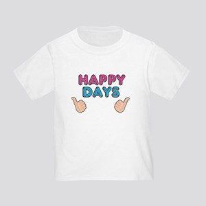 'Happy Days' Toddler T-Shirt