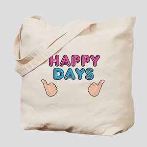 'Happy Days' Tote Bag