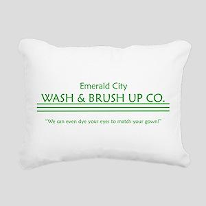 washupco Rectangular Canvas Pillow