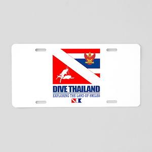 Dive Thailand Aluminum License Plate