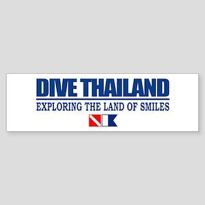 Dive Thailand Bumper Sticker