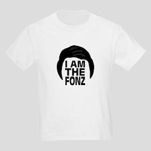 'I Am The Fonz' Kids Light T-Shirt